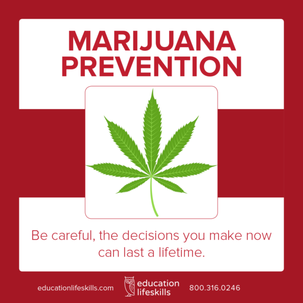 marijuana prevention course